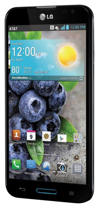 LG Optimus G Pro angled