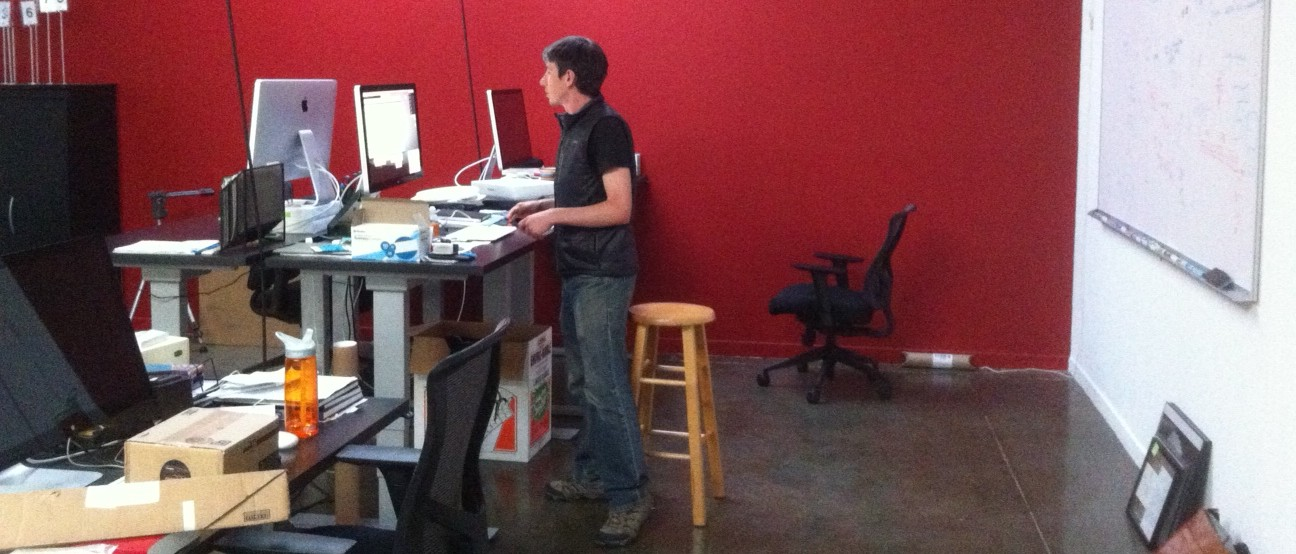 Matt DeBergalis, a co-founder of Meteor, at the company's office in San Francisco. Source: Jordan Novet