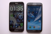 Optimus G Pro and Galaxy Note 2