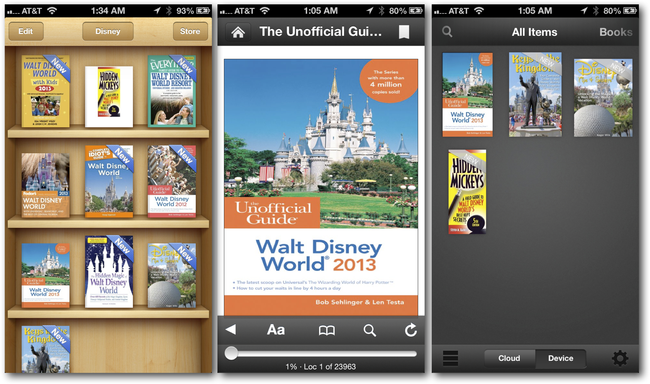 Planning the trip with eBooks