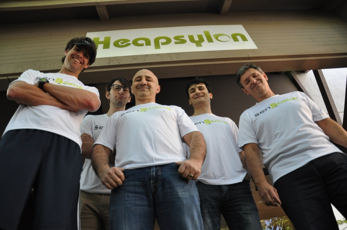 The Heapsylon employees and founders.