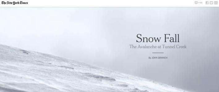 Snowfall cover image