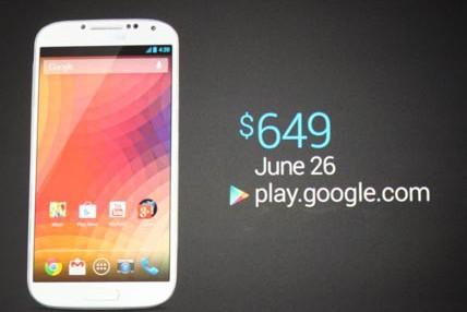 Stock Galaxy S 4