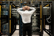 Trouble in data center pic