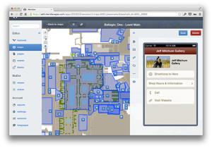 Meridian Mapping screenshot