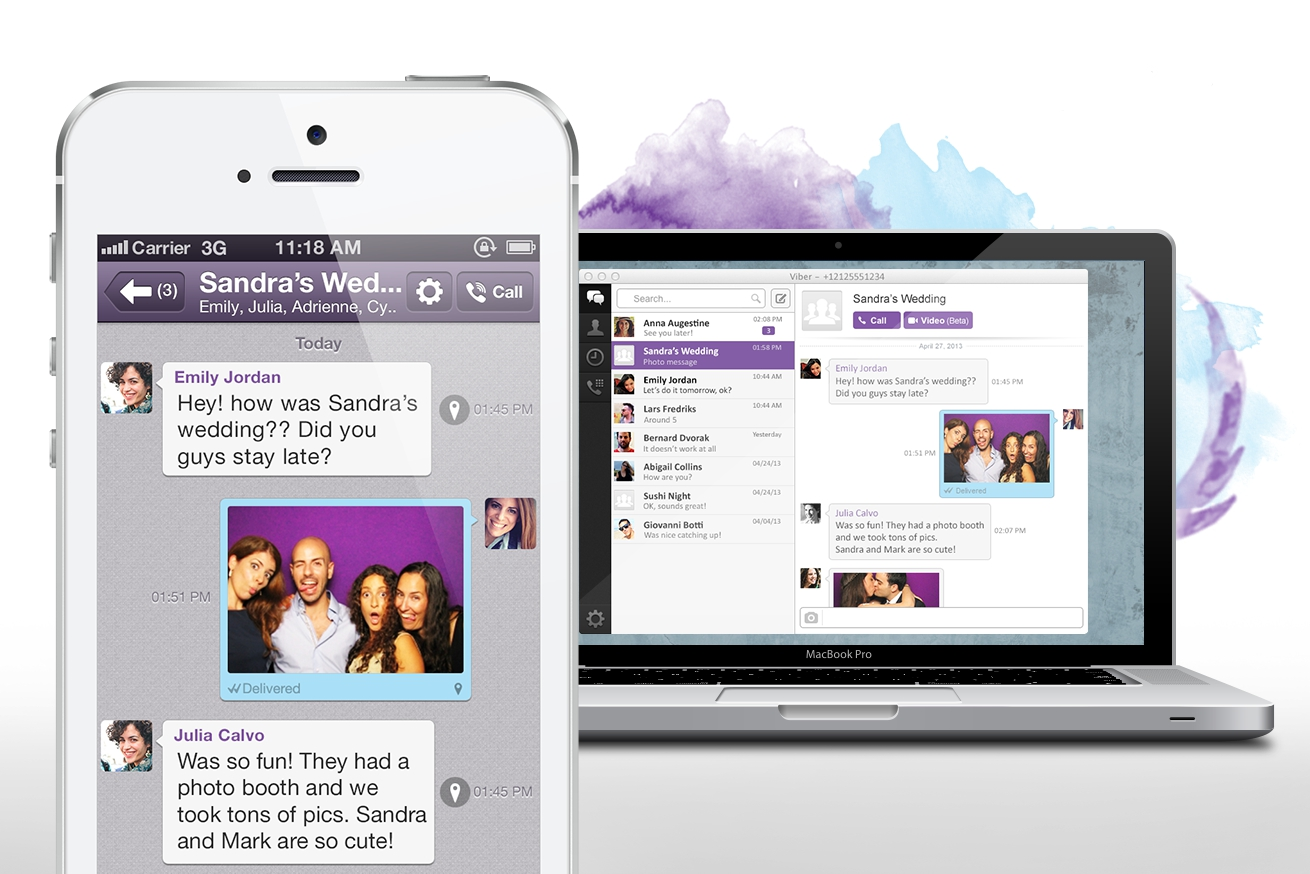 Viber desktop iPhone
