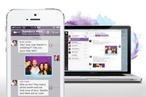 Viber desktop iPhone