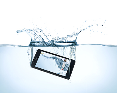 Xperia ZR water
