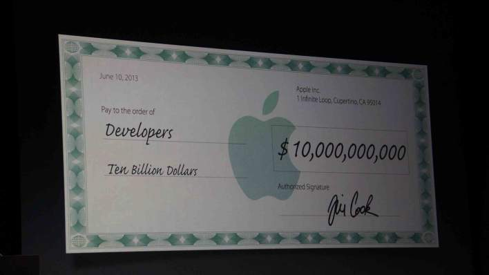 $10 billion to developers