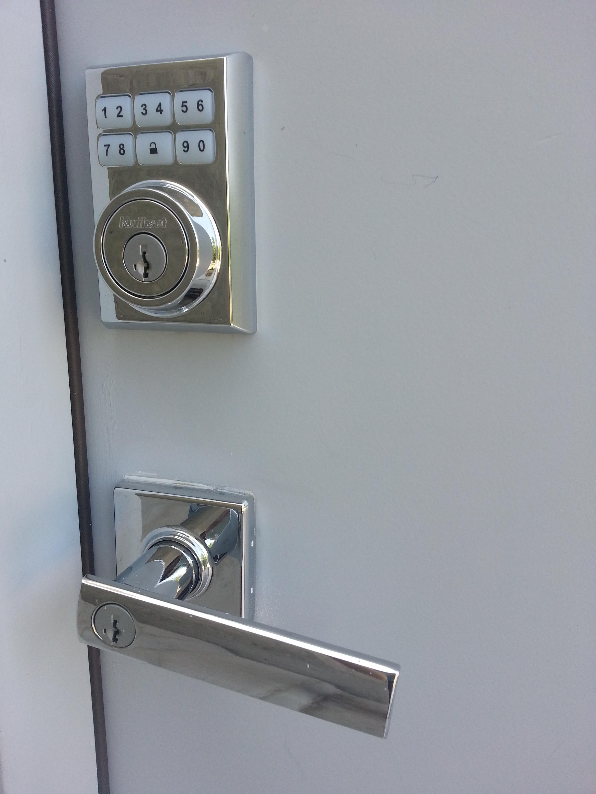 My Kwikset Z-wave lock.