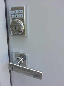 My Kwikset Z-wave lock.