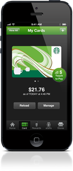 Starbucks App iPhone