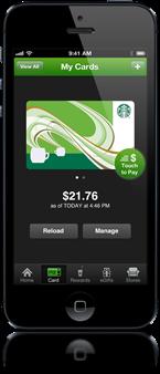 Starbucks App iPhone
