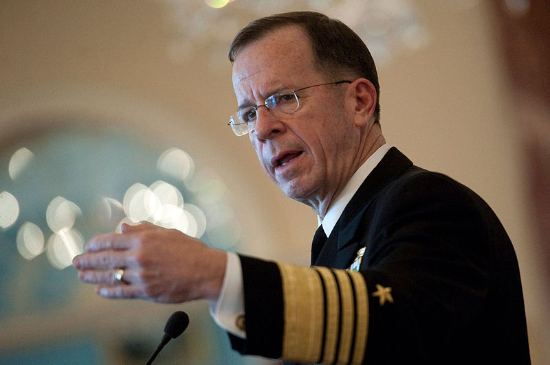 Mike Mullen former Chairman, Joint Chiefs of Staff