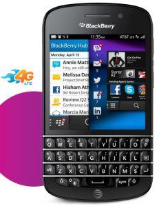 AT&T BlackBerry Q10