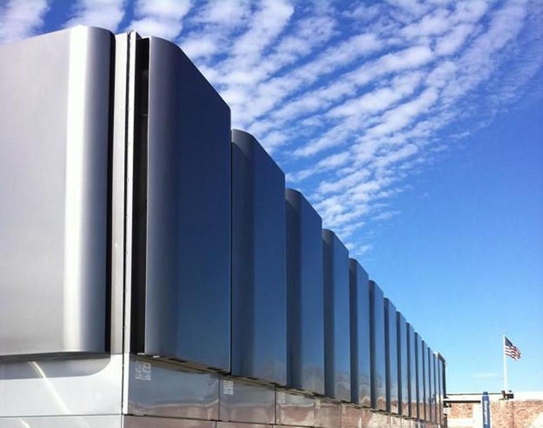 Bloom Energy's fuel cells, image courtesy of Bloom Energy.