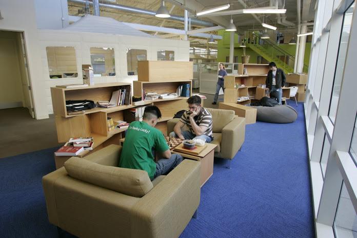 Inside the Googleplex. Source: Google