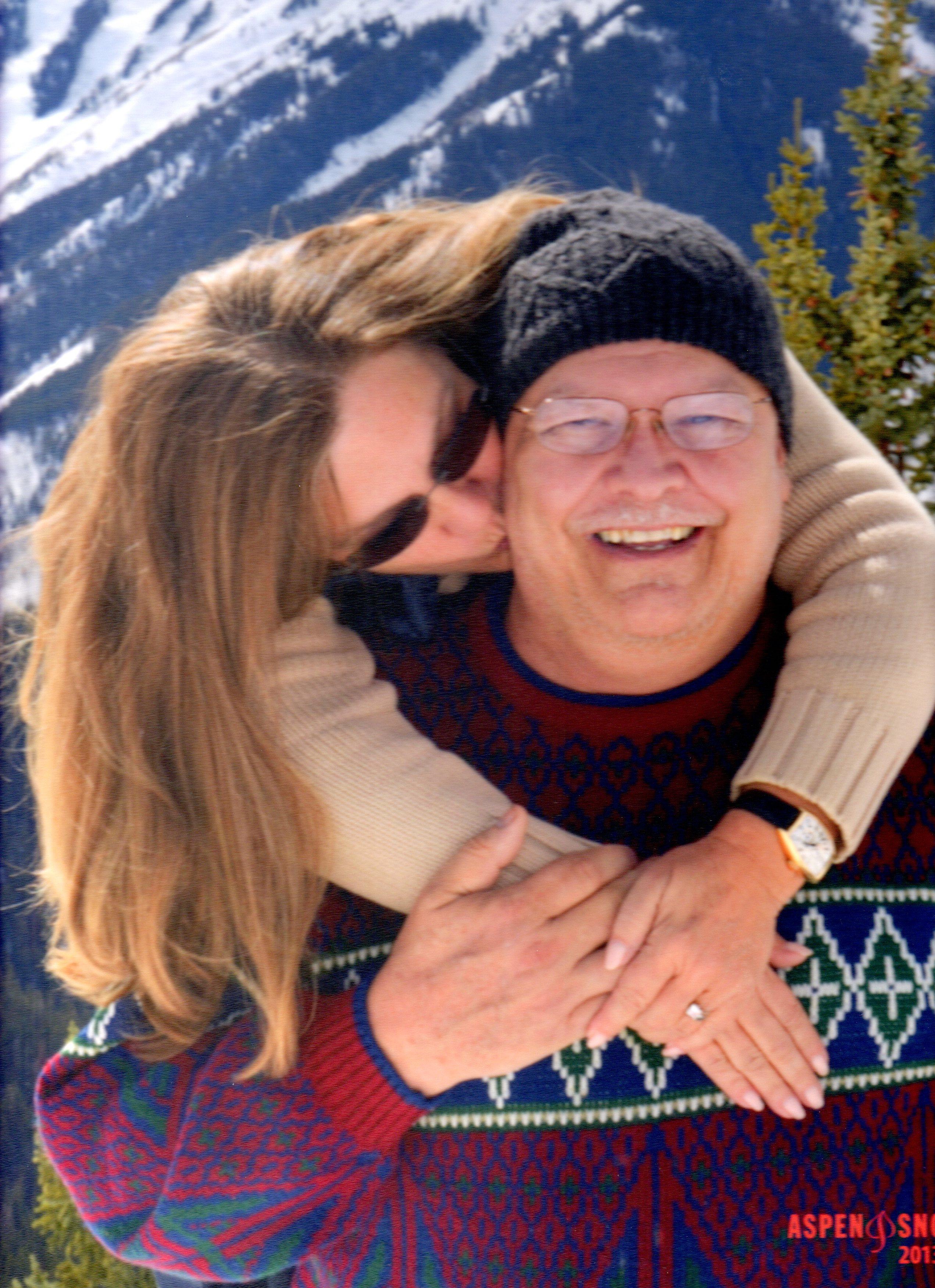 Ed and Nancy Iacobucci in Aspen in 2013.