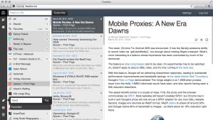 feedbin screenshot desktop