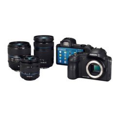 Galaxy NX camera with interchangeable lenses