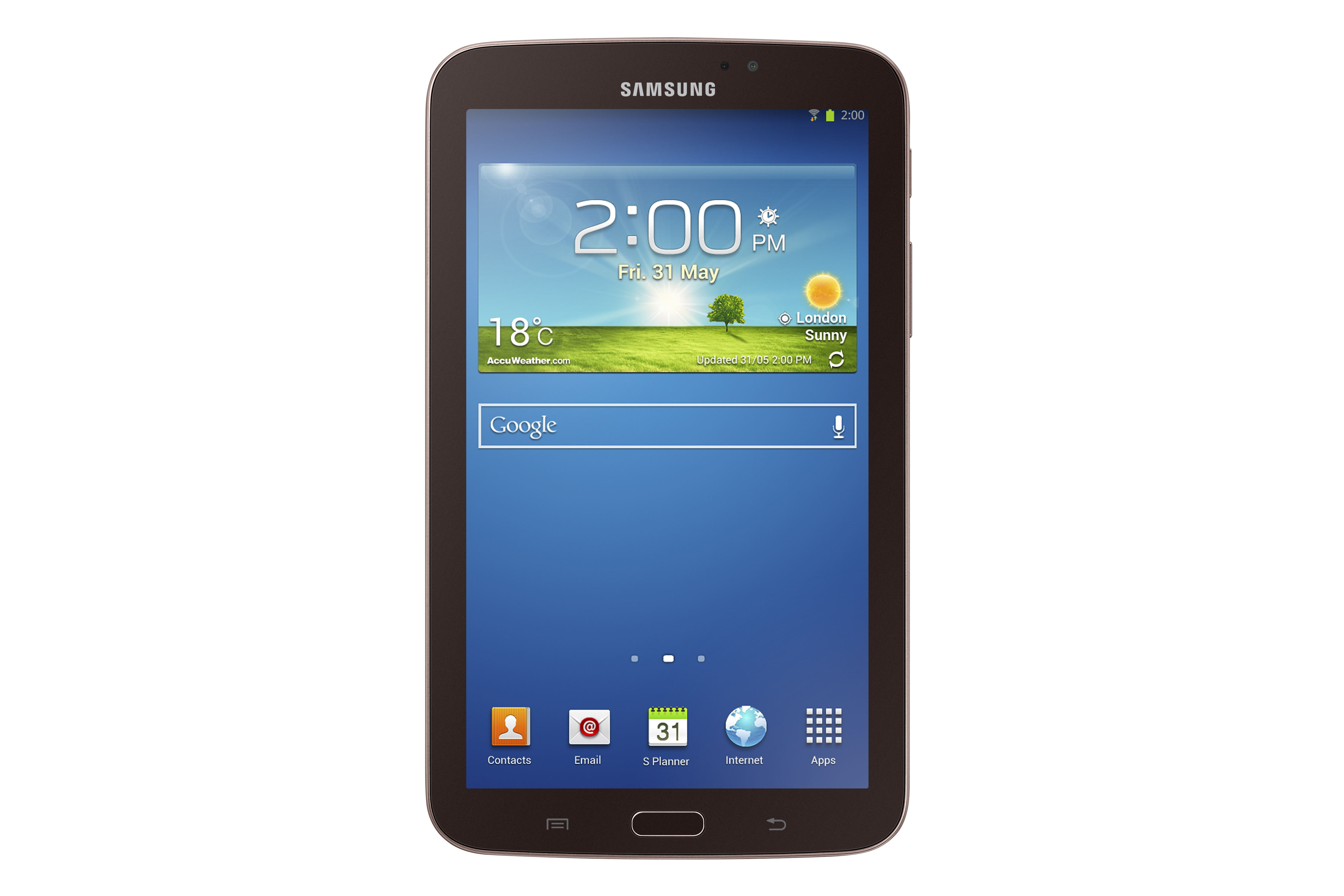 tablets. The new Galaxy Tab 3 comes in 7, 8 and 10.1-inch sizes to