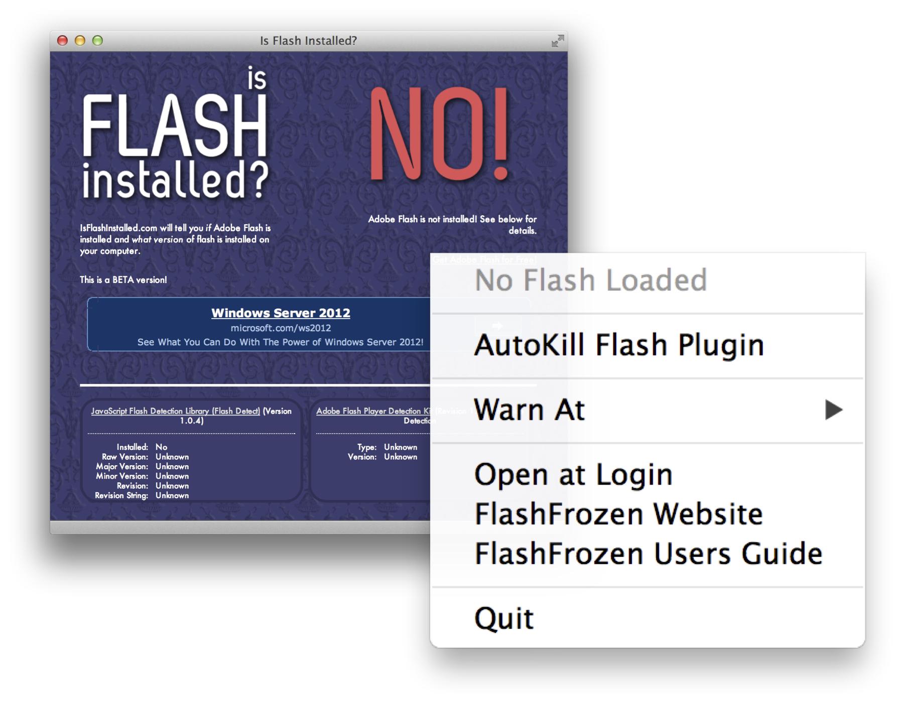 Get rid of Adobe's Flash