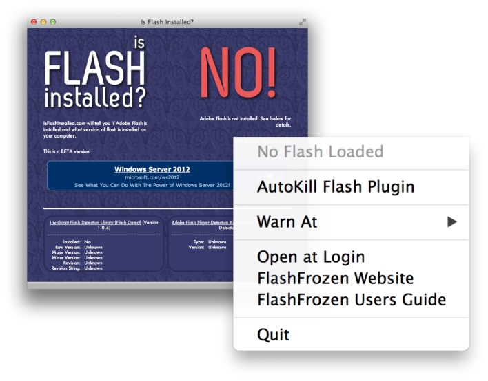 Get rid of Adobe's Flash