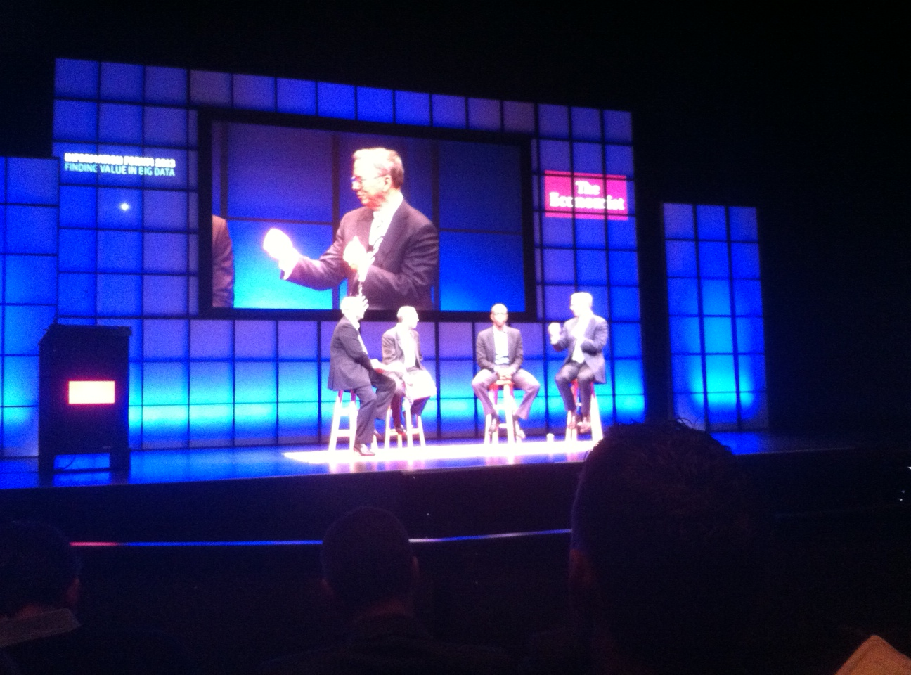 Eric Schmidt, executive chairman at Google, at the Economist's Information Forum in San Francisco on June 4, 2013