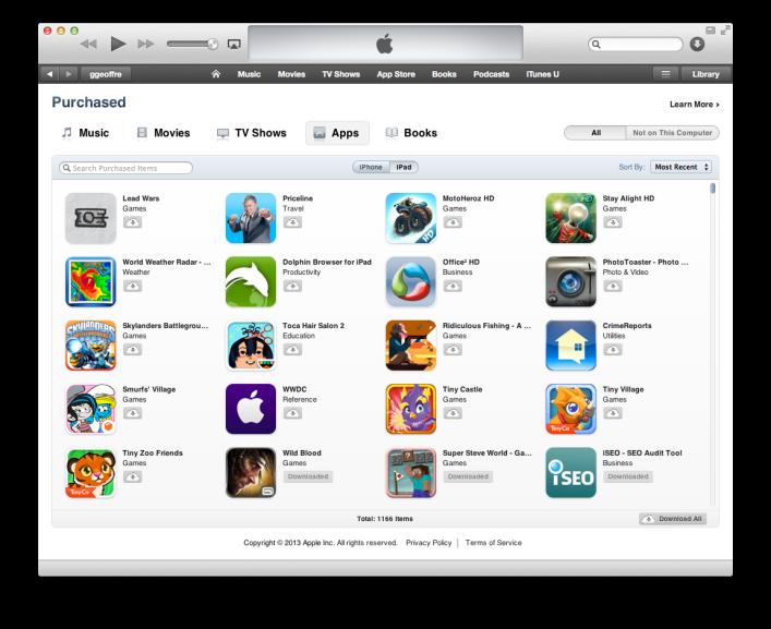 iOS App Downloads