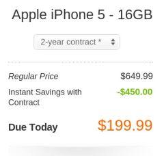iPhone 5 upgrade