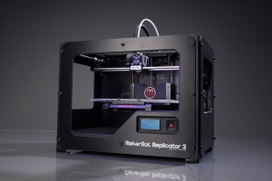 MakerBot Replicator 2:  A low cost mobile 3D printer for the maker community.