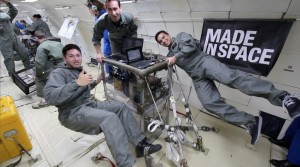 Made in Space 3D printer in microgravity