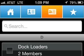 ATT PTT iPhone screenshot
