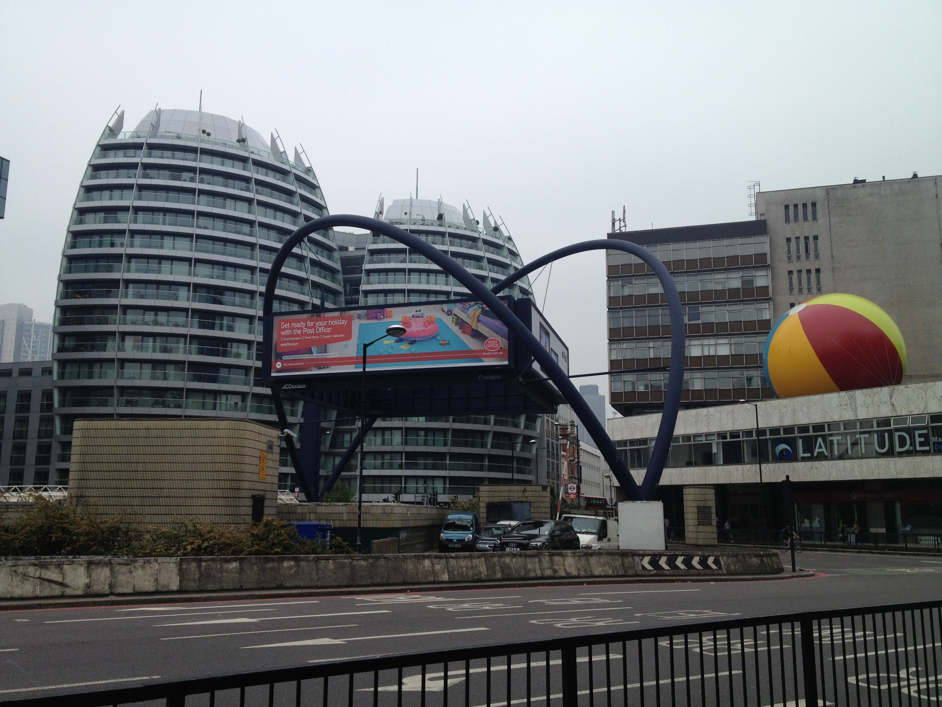 The official Silicon Roundabout, which was originally coined as a joke.