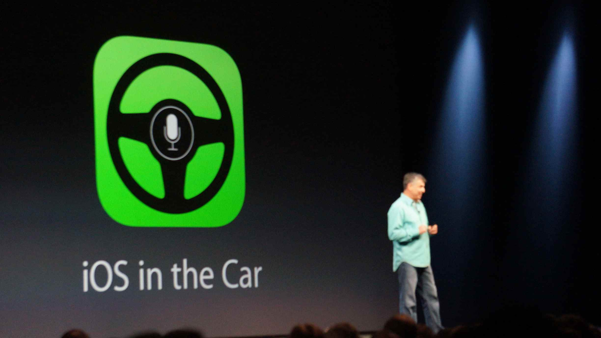 WWDC iOS car interface