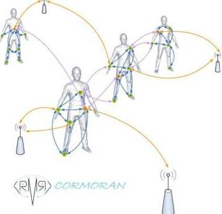 Cormoran collaborative body area networking
