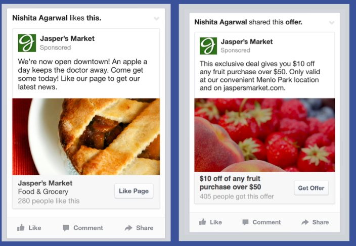 Facebook ads screenshot simplify