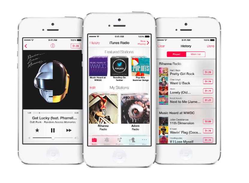 iTunes radio Apple WWDC official image iPhone