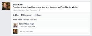 hashtag response