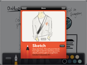 Paper iPad app by Fifty Three