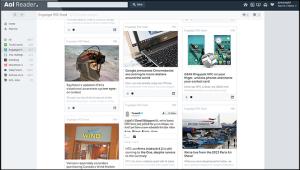 AOL news reader RSS
