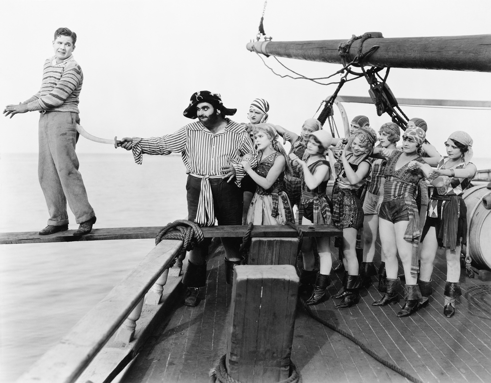 Pirates, walk the plank