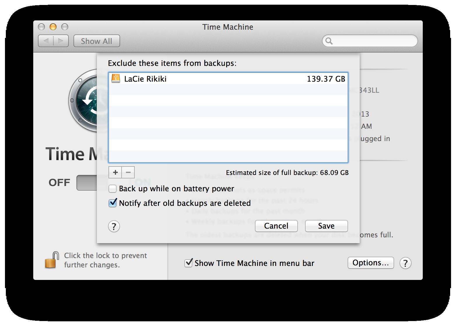 Stop Time Machine