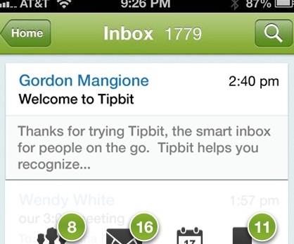 Tipbit screen 2