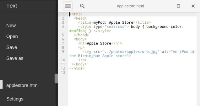 Txt Chrome app