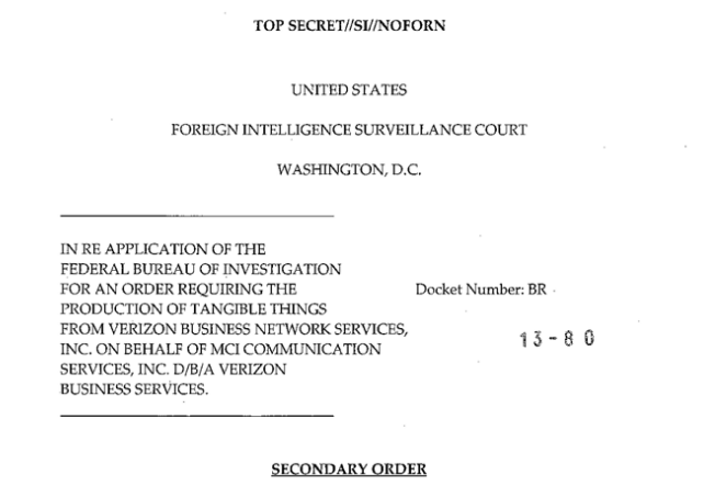 Verizon court order