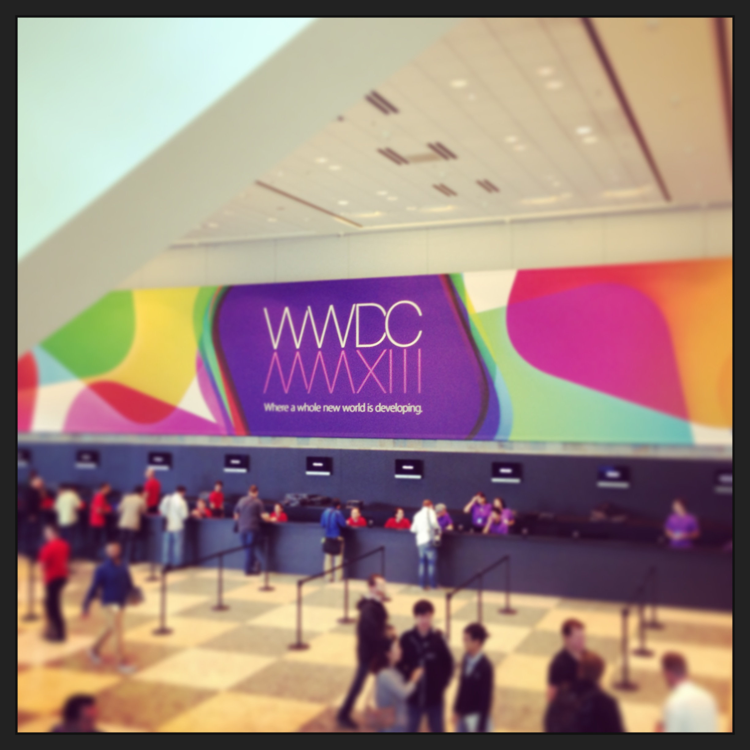 WWDC banners Apple
