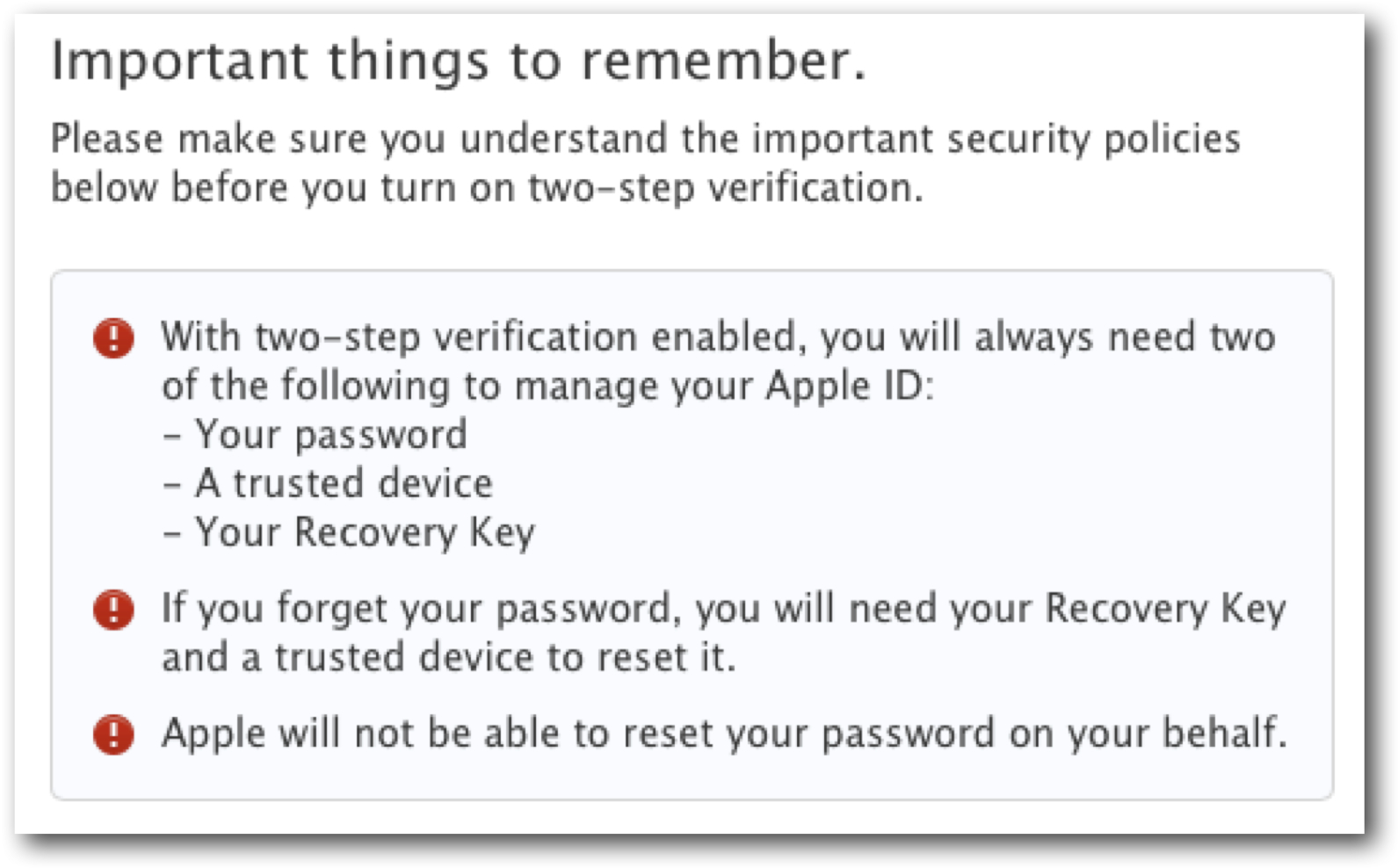 14-digit recovery key