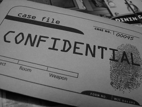 Confidential / secret