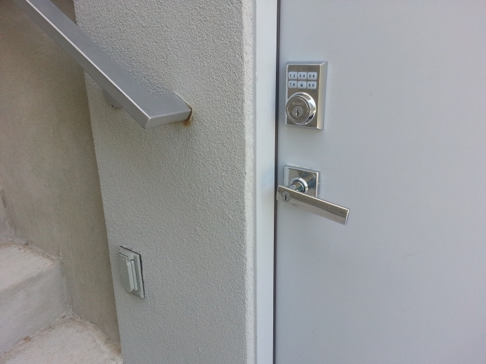 My Z-wave Kwikset locks. We use the keypad more than the connectivity.